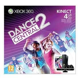 Microsoft Xbox 360 Slim 4Go (+ Kinect + Kinect Dance Central 2)