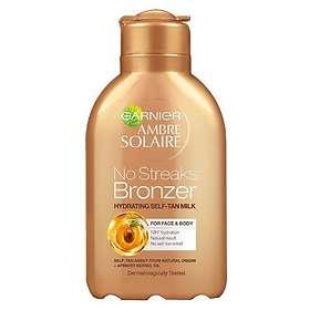 Garnier Ambre Solaire No Streaks Bronzer Self Tanning Milk 150ml