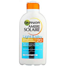 Garnier Ambre Solaire Light & Silky Milk SPF20 200ml