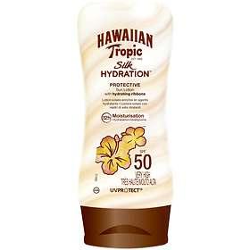 Hawaiian Tropic Silk Hydration Protective Sun Lotion SPF50 180ml