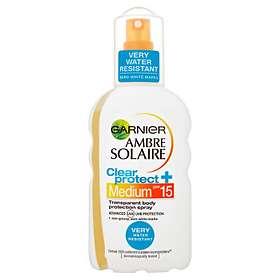 Garnier Ambre Solaire Clear Protect Spray SPF15 200ml