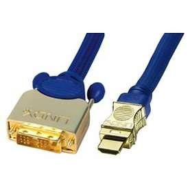 Lindy Premium Gold HDMI - DVI-D Single Link 0,5m