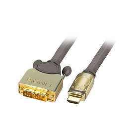 Lindy Premium Gold HDMI - DVI-D Single Link 15m