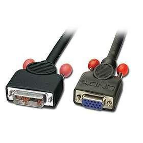 Lindy DVI-A - VGA M-F 2m
