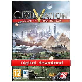 Civilization V - Game of the Year Edition (Mac)
