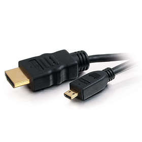C2G Value HDMI - HDMI Micro High Speed with Ethernet 3m