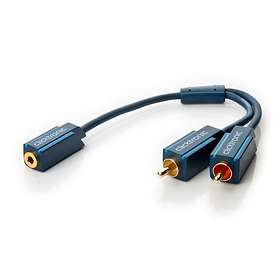ClickTronic Casual 3.5mm - 2RCA F-M 0.1m