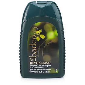 Badedas 3in1 Revitalising Shower Gel & Shampoo & Conditioner 200ml