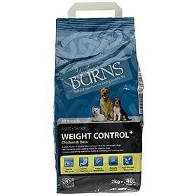 Burns Pet Dog Weight Control+ Chicken & Oats 2Kg