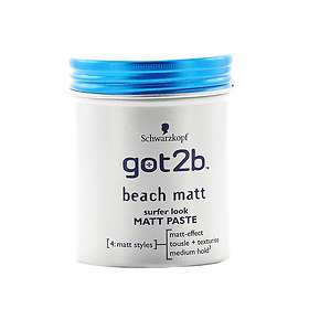 Schwarzkopf Got2b Beach Surfer Look Matt Paste 100ml