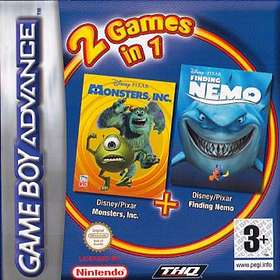 2 Games in 1: Finding Nemo + Monsters, Inc. (GBA)