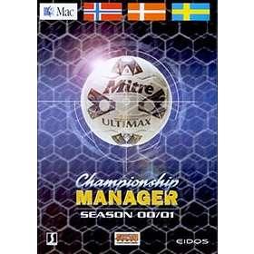 Championship Manager 00/01 (Mac)