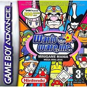 Wario Ware, Inc: Minigame Mania (GBA)