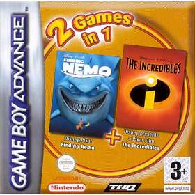 2 Games in 1: Finding Nemo + The Incredibles (GBA)