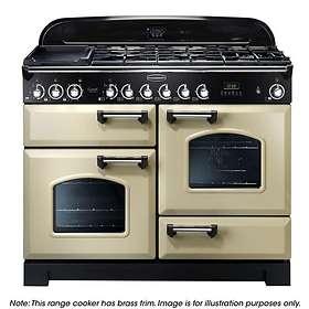 Rangemaster Classic Deluxe 110 Dual Fuel (Cream)