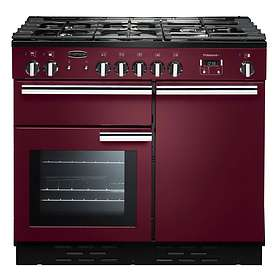 Rangemaster Professional+ 100 Dual Fuel (Red)