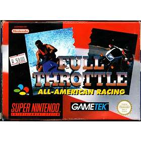 Full Throttle: All-American Racing (SNES)