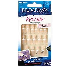 Broadway Nails Real Life False Nails 24-pack