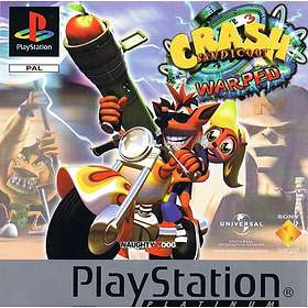 Crash Bandicoot 3: Warped (PS1)