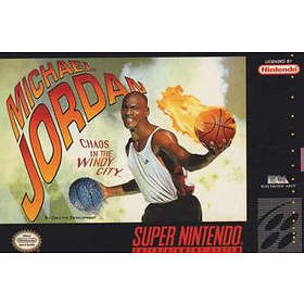 Michael Jordan in Chaos in the Windy City (SNES)