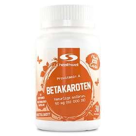 HealthWell Betakaroten 30 Tabletter