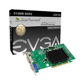 EVGA e-GeForce 6200 512Mo