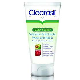 how to use clearasil ultra acne marks wash and mask