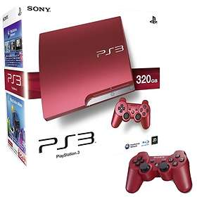 Sony PlayStation 3 Slim 320GB - Red Limited Edition