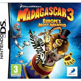 Madagascar 3: Europe's Most Wanted (DS)