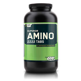 Optimum Nutrition Superior Amino 2222 320 Tabletter