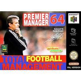 Premier Manager 64 (N64)