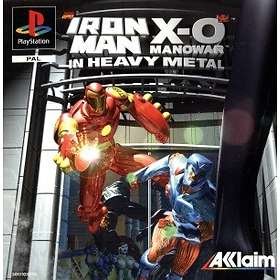 Iron Man / X-O Manowar in Heavy Metal (PS1)