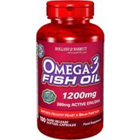 Holland & Barrett Omega 3 Fish Oil 1200mg 100 Capsules
