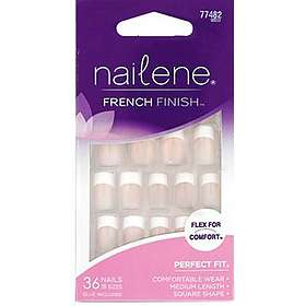 Nailene French Finish False Nails 36-pack