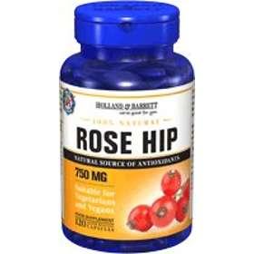 Holland & Barrett Rose Hip Capsules 750mg 120 Capsules