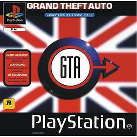 Grand Theft Auto Mission Pack #1: London 1969 (PS1)