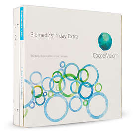 CooperVision Biomedics 1 Day Extra (90-pack)
