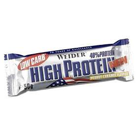 Weider Low Carb High Protein 40% Bar 50g