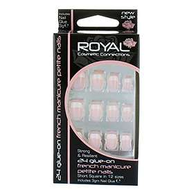 ROYAL Cosmetics Connections Glue On False Nails 24-pack