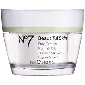 Boots No7 Beautiful Skin Day Cream Normal/Oily SPF15 50ml