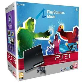 Sony PlayStation 3 Slim 320Go (+ Sorcery + Move Starter Pack)