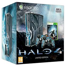 Microsoft Xbox 360 Slim 320GB (inkl. Halo 4) - Limited Edition