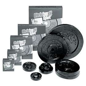 Christopeit Sport Cast Iron Dumbbell Plate 30mm 20kg