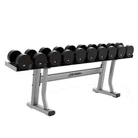 Life Fitness Signature Single Tier Dumbbell Rack