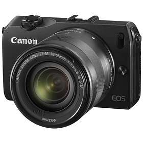 Canon EOS M + 18-55/3,5-5,6 IS STM