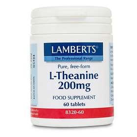 Lamberts L-Theanine 200mg 60 Tablets