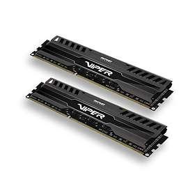 Patriot Viper 3 Black Mamba DDR3 1600MHz 2x8Go (PV316G160C9K)