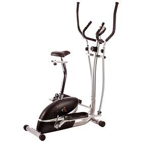 V-Fit MCCT1 2in1 Cycle and Elliptical Cross Trainer