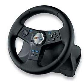 Logitech Rally Vibration Feedback Wheel (PS2)