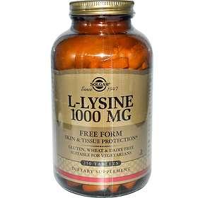 Solgar L-Lysine 1000mg 250 Tablets
